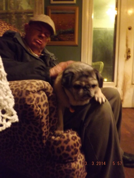 The queen of the Kennedy Compound pugs comes home to her final restingplace